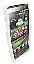SILICONE TPU per cellulare Cover Case GUSCIO Per LG p920 Optimus 3d TRASPARENTE BIANCO