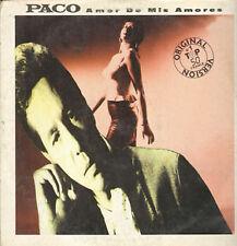 PACO - Amor De Mis Amores (La Foule) (Remix) - 1988 Tirer Ita – PL 12 004 88/1