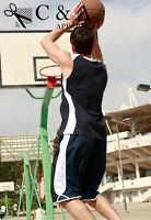 New Adults Basketball Singlet Shirt Top & Basketball Shorts Sportswear Suit Set