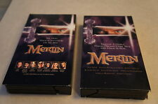 Merlin VHS tapes - Part One and Part Two