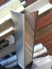 "Stainless Steel Corner Guard 1 1/2"" x 1 1/2"" x 48"""