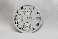 Chopard Geneve White & Silver Markers Chronograph Wristwatch Dial - 29mm Used