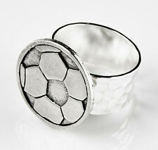 Soccer Ring - Accessories - Rings - Women's Jewelry - Gift Box