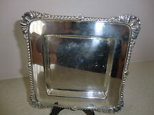 Vintage Silver Plated Entree dish/Tray SIGNED BY ATKIN BROS