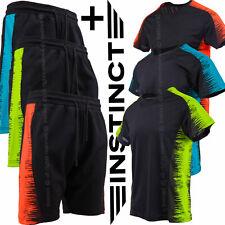 Bermuda Uomo Pantaloncini Tuta Sportivi e T-Shirt Shorts Maglietta Fitness Sport