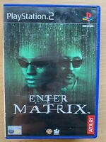 Enter the Matrix PS2 Spny PlayStation 2 Game Based on the Keanu Reeves Film