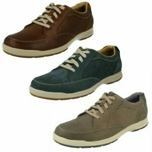 Mens Clarks Casual Lace Up Shoes 'Stafford Park 5'