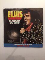 Elvis Presley Pledging My Love / Way Down 45 1977 RCA Vinyl Record
