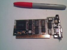 Vintage Rare 8bit ISA NIC Ethernet Network Card with Apple AAUI Port 085-3857-01