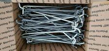 60 14 X 8 Heavy Duty Peg Board Hooks Used