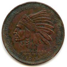1915 Panama Pacific Expo RARE Souvenir Penny of California First American AL141