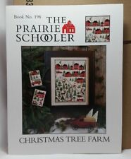 Christmas Tree Farm Prairie Schooler Cross Stitch Pattern Cardstock OOP BK 198