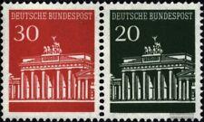 BRD (BR.Deutschland) W25 postfrisch 1967 Brandenburger Tor