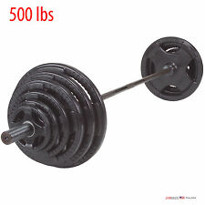 OSR500S BodySolid 500 lb.Olympic Rubber Grip Plates - pickup (Forest Park, IL)