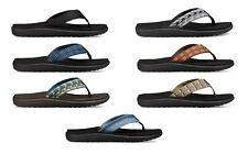 Teva Men's Voya Flip Flops Sandals #1019050 Sizes 8 9 10 11 12 13