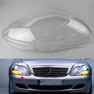 For Mercedes Benz W220 98-05 S-Class S500 Clear Lens Shell Cover Headlight Right