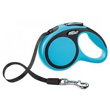 Flexi New Comfort Retractable Dog Leash (Tape, 16 ft, Large, Blue & Black ~ NEW