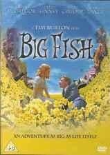 Big Fish, DVD, 2010 , Tim Burton,Helena Bonham-Carter,Alison Lohman, J. Lange