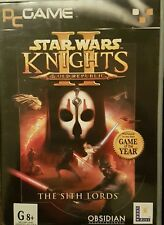 "2005 Star Wars ""Knights of the Old Republic II The Sith Lord"" -PC-FREE SHIPPING!"