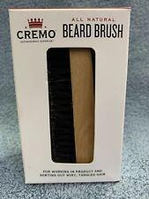 CREMO Astonishing Superior All Natural Beard Brush