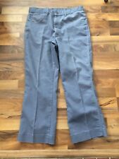 2184c089 Vtg Mens SHEPLERS Gray Classic 5-Pocket Jeans Style 140954 MTTJ0366 Size 38