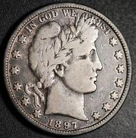 Official Whitman Folder Barber Morgan Half Dollar 1892-1903 USED