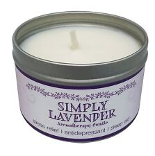 Our Own Candle Company Soy Aromatherapy Scented Candle, Simply Lavender, 6.5 oz