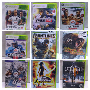 PICK 1] Microsoft X Box 360 Video Games for USA and Canada Consoles