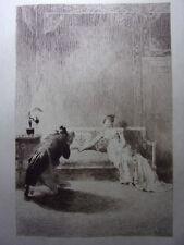 7 / LES CHOUANS Balzac Eau forte originale signée Julien le Blant