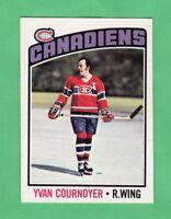 1976-77 OPC O PEE CHEE  # 30  Yvan Cournoyer nrmnt-mt