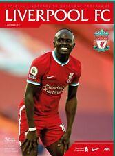 Liverpool v Arsenal 2020/21 brand new football programme