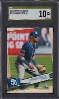 2019 TOPPS BIG LEAGUE GOLD LABEL PRISTINE FERNANDO TATIS JR. RC SGC 10