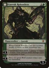 Garruk Relentless / Garruk, the Veil-Cursed Innistrad HEAVILY PLD CARD ABUGames
