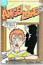 ANGEL LOVE #1 1986 DC by BARBARA SLATE LIMITED SERIES P1/8 CARTOON/ROMANCE..FN+