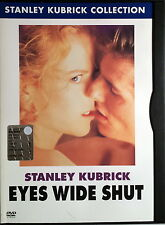 EYES WIDE SHUT - Kubrick DVD Cruise Kidman