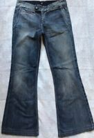 7 Seven For All Mankind Women's Size 25 Casual bootcut Jeans Medium Wash Denim