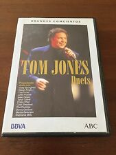 TOM JONES DUETS GRANDES CONCIERTOS ABC - 1 DVD - 24 CANCIONES - 65 MIN - 2001