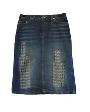 ** Dolce & Gabbana ** Denim Skirt ** 26/40 ** Faded ** Cotton **