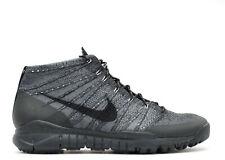 NEW Nike Flyknit Trainer Chukka FSB 625009-003 Black/Dark Grey Size 12 🔥Rare!!!