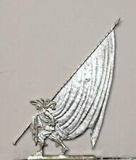 Zinnflachfiguren: Fahnenträger 2 30jähriger Krieg, 30mm