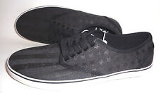 MENS AEROPOSTALE CANVAS BLACK SNEAKERS SHOES SIZE 8