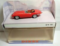MATCHBOX THE DINKY COLLECTION 1:43 SCALE 1968 JAGUAR E TYPE MK.1.5 - RED - DY-18