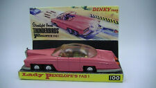 Dinky Toys 100 Lady Penelope Vintage FAB 1 Original Thunderbirds New Box VG Cdn