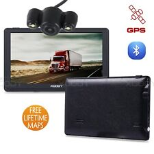 "XGODY 7"" SAT Nav Car GPS Navigation Bluetooth + Rear View Reversing Camera Kits"