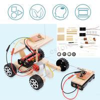 Wireless Remote Control Model Kits Funny RC Car Educational DIY Set Kids Toy