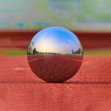 4 Sizes Mirror Garden Home Sphere Ornament Stainless Steel Gazing Hollow Balls -