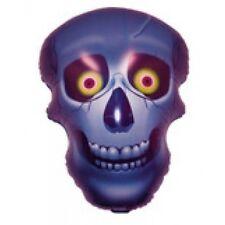 """Halloween Skull Shaped Foil Jumbo Balloon 25"""""""