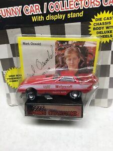 Mark Oswald Motorcraft 1989 1/64 Racing Champions NHRA Collector Series 1 Funny