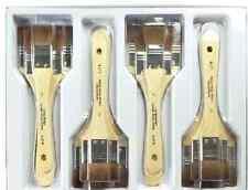 Royal Langnickel NATURAL HAIR Large Area Paint Brushes Classroom Bulk Lot  12 pc