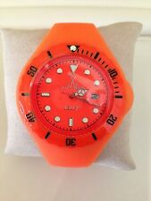 TOY WATCH ORANGE JELLY WATCH WITH INTERCHANGEABLE ORANGE DIAL INSERT